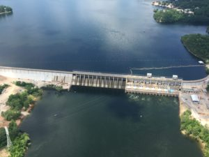 Bagnell Dam on Lake Ozark
