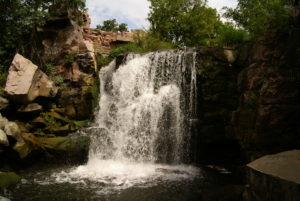 Winnewissa Falls at Pipestone National Monument