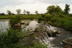 Winnewissa Rapids at Pipestone National Monument