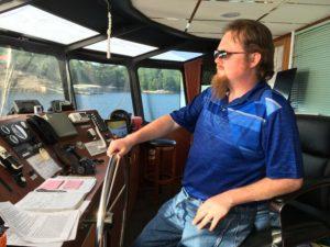 JD cruising Lake Ozark, Missouri