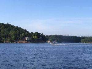 Cruising Lake Ozark, Missouri